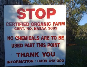 our organic audit checked for property signs like this