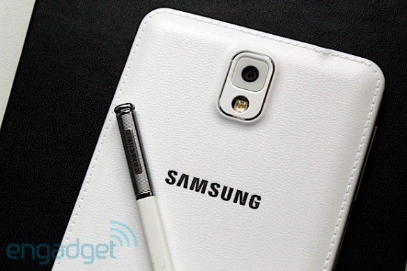 s pen2 The Samsung Galaxy Note III and Samsung Galaxy Gear