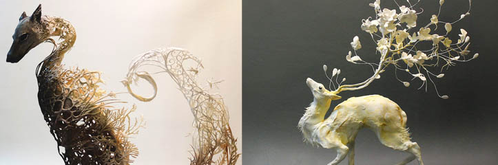 52_1_Gorgeously-Surreal-Sculptures-Intricately-Fuse-Animals-with-Nature