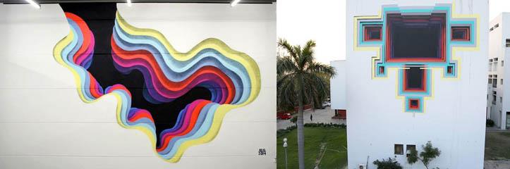 ドイツの芸術家による錯覚のストリートポータル