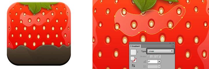 クイックピック:Adobe Illustratorでスタイリッシュな苺アイコンを作成する方法
