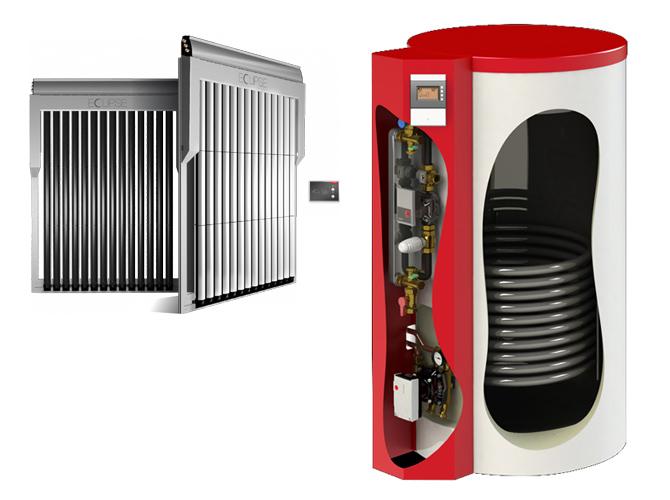 Il primo accumulo Solare Bollitore da 350 litri per ACS e integrazione riscaldamento