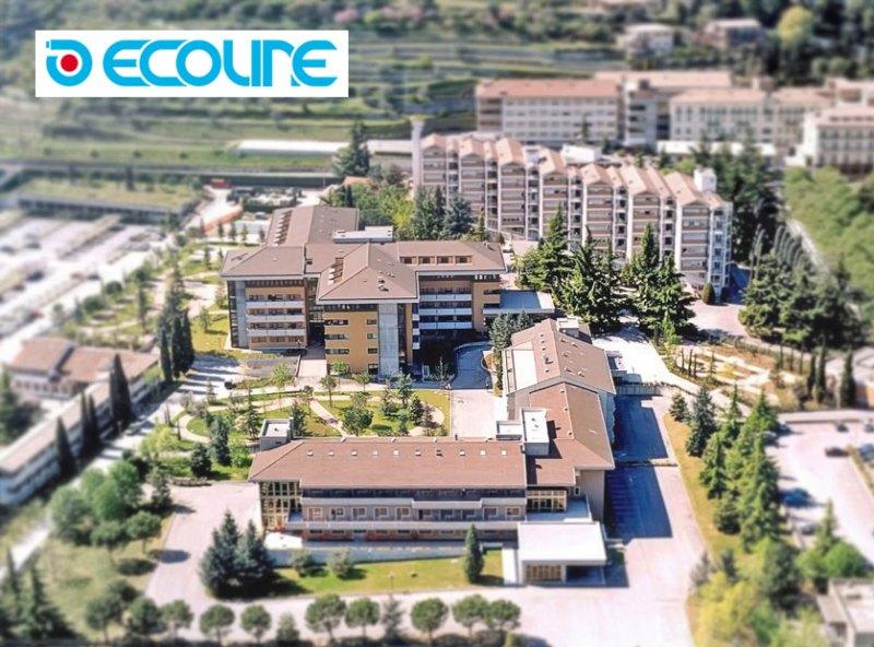 Tubazioni flessibili Ecoline per Ospedale di Negrar a Verona
