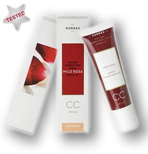 Korres Wild Rose CC Cream Testbericht