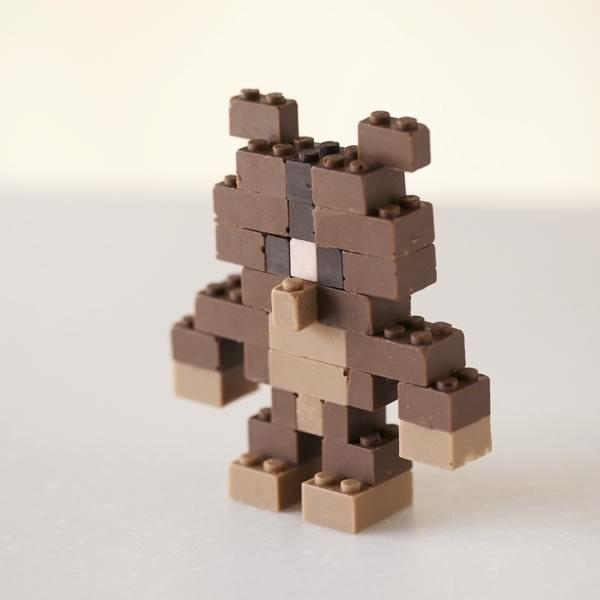 lego chocolate funcionales y comestibles - 08