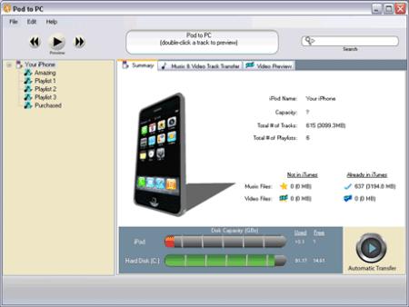 Copiar musica de cualquier ipod a la computadora con PodtoPC