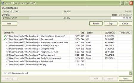 Copiar archivos mas rapido con TeraCopy