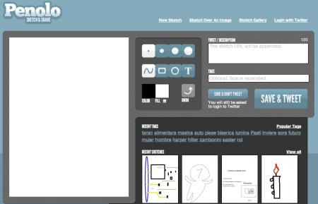 Penolo, una aplicación para dibujar en la nube