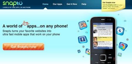 Aplicaciones web en tu celular con Snaptu
