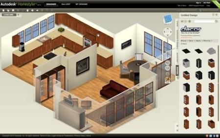 Diseñar casa online con Autodesk Homestyler