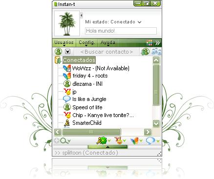 Abrir messenger con Instan-T Messenger