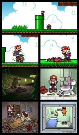 Mario Bros asesino