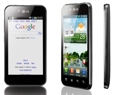 LG Optimus Black, CES 2011