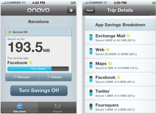 Onavo for iphone Reduce el consumo de tu plan de datos con Onavo para iPhone