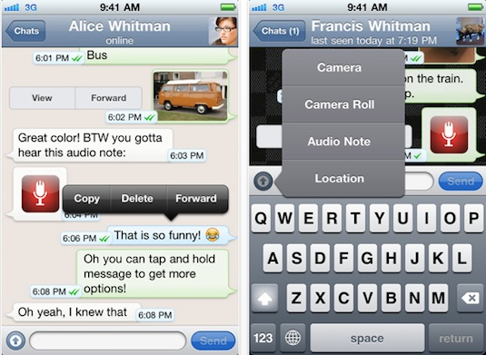 Whatsapp Messenger for iphone free WhatsApp Messenger para iPhone gratis por tiempo limitado