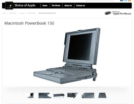 Shrine of Apple, viaja en el tiempo y conoce los productos de Apple