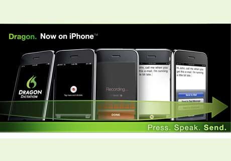 dragon dictation app Díctale a tu iPhone con Dragon Dictation App