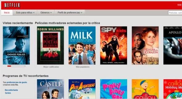 netflix home 590x321 Cómo usar el mes gratis de Netflix sin tarjeta de crédito