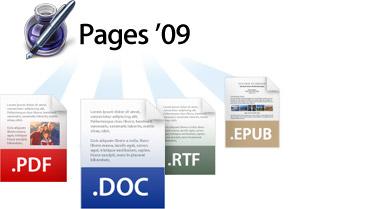 pages apple epub Pages simple, sencillo y fácil de usar