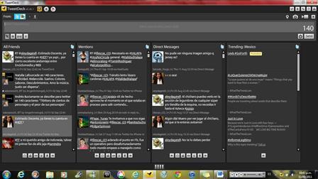 t4 Todas tus redes sociales en Tweetdeck
