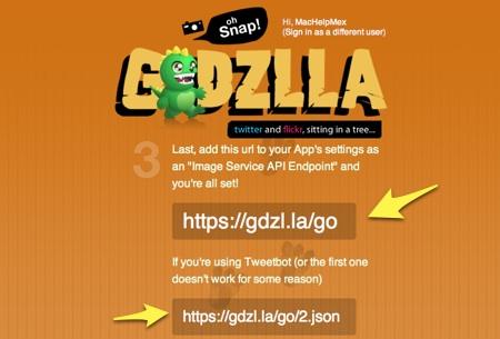 Set up your device GDZLLA Subir fotos a flickr desde tu cliente de Twitter favorito