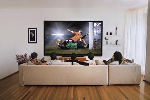 aquos led tv 80 Sharp AQUOS LED TV la pantalla más grande del mercado en México