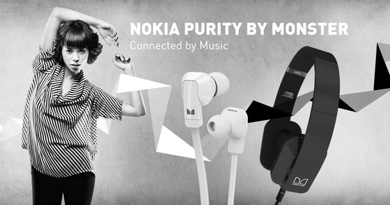nokia purity monster Nokia Purity, auriculares de gran calidad de la mano de Monster