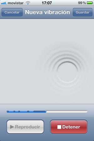 vibraciones personalizadas iOS 5: Como activar y crear las vibraciones personalizadas de tu iPhone
