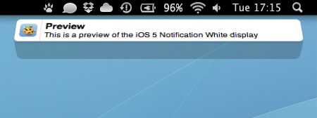 Cómo tener la animación de las notificaciones de iOS 5 en Mac con Growl