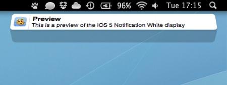 Growl ios 5 theme Cómo tener la animación de las notificaciones de iOS 5 en Mac con Growl