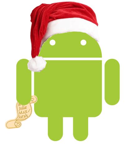 android christmas Colección de Live Wallpapers navideños para Android