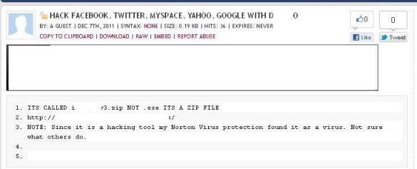 facebook hack Nuevo malware ataca a quienes intentan entrar en perfiles de Facebook ajenos