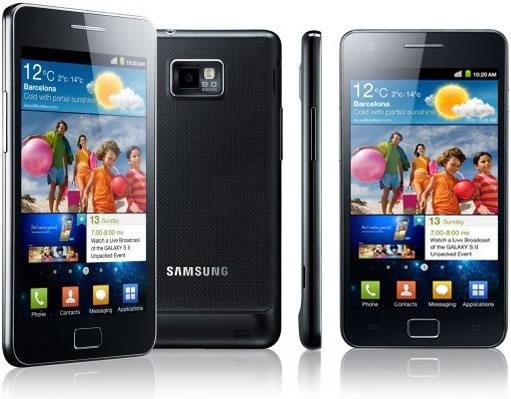 samsung galaxy sii Samsung anuncia fechas para Ice Cream Sandwich en dispositivos Galaxy