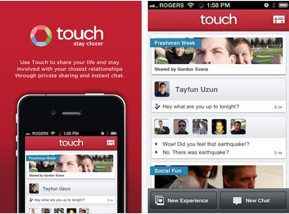 touch ios Pingchat, la aplicación de mensajería instantánea multiplataforma para móviles se renueva y se transforma en Touch