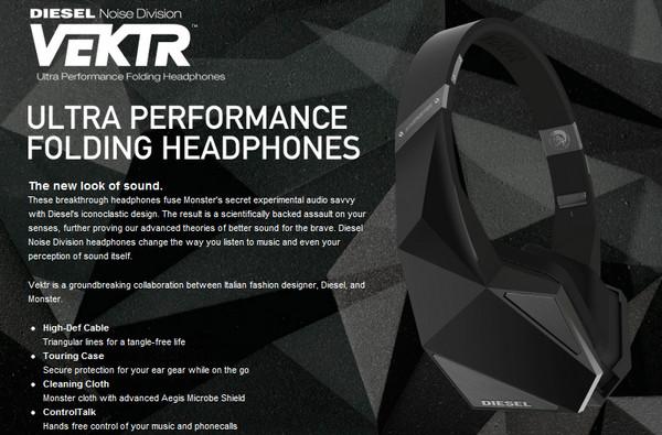 diesel monster headphones Monster presenta en el CES sus nuevas lineas de auriculares