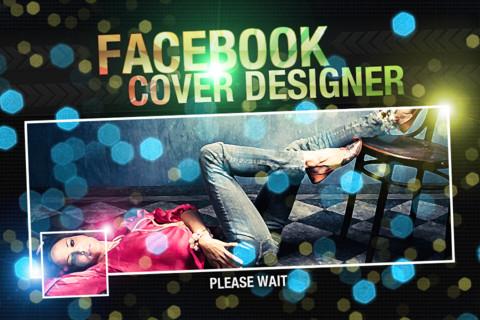 facebook cover designer Crea la portada de tu biografía con Facebook Cover Designer para iPhone