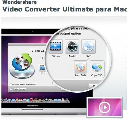 video converter mac Convierte videos y canciones en Mac con Video Converter Ultimate