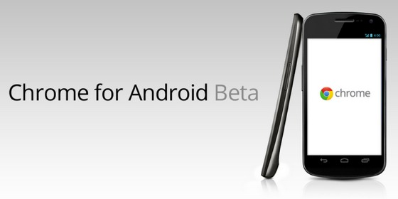 chrome android beta Google presenta Chrome para Android