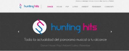 Hunting Hits, el sitio web de las novedades musicales