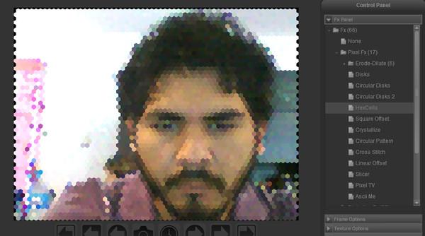fabcam fotos Toma fotos con tu webcam y aplícale efectos con Fabcam