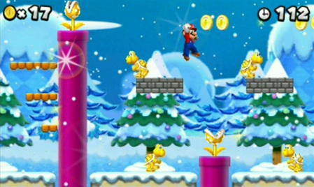 New Super Mario Bros. 2 Screenshot 3 Nintendo anuncia la salida de New Super Mario Bros 2