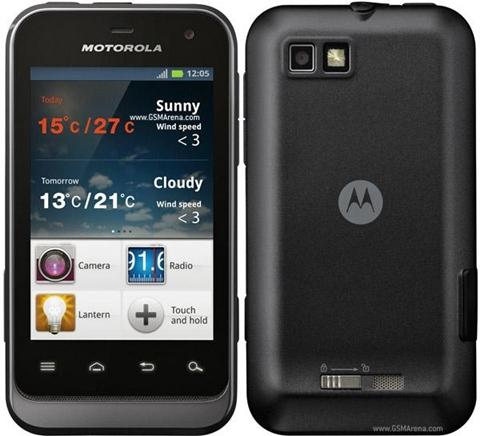 motorola defy mini smartphone Motorola Defy Mini resiste hasta el agua