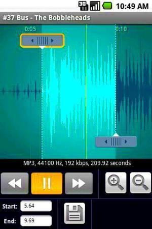 Crear tonos para Android con Ringtone Maker Pro Free