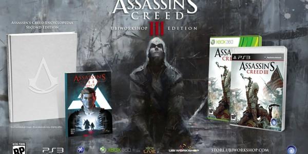 Assassins Creed ubiworkshop Se anuncia otra edición especial de Assassins Creed 3