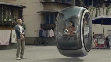 El auto volador del futuro de Volkswagen
