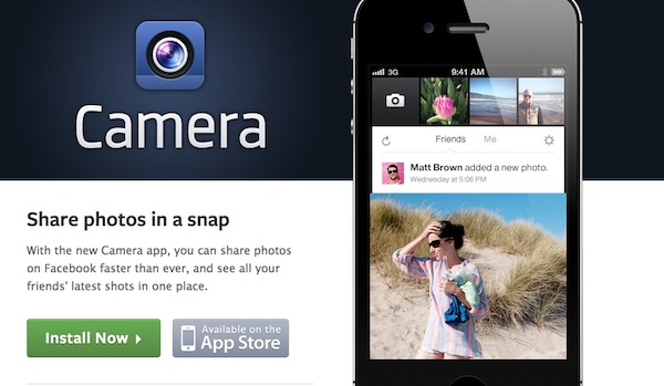 Facebook camera iphone Facebook Camera para iPhone, la nueva aplicación de fotos de la red social