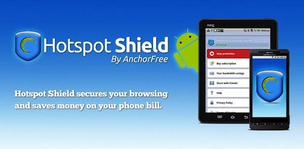 Hotspot Shield para Android disponible para descargar
