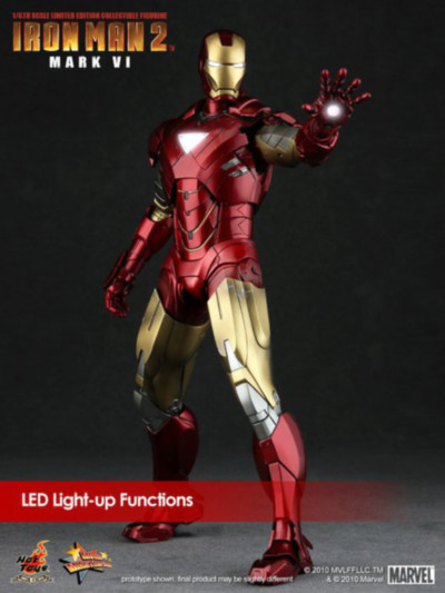 Iron Man Mark VI Las armaduras de Iron Man desde la Mark I hasta la Mark VII de The Avengers