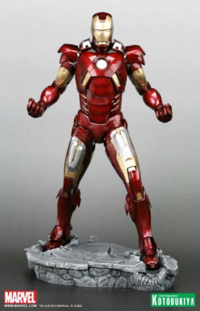 Iron Man Mark VII Las armaduras de Iron Man desde la Mark I hasta la Mark VII de The Avengers