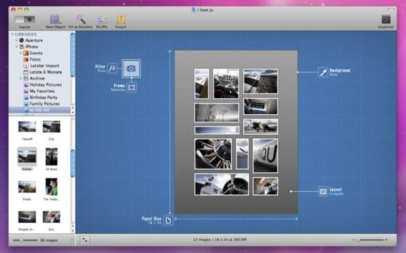 posterino 590x368 Crea collages de tus fotos con Posterino [Mac]